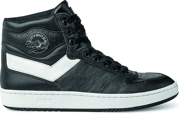 City Wings Hi Leather - SKU PO301001 - Negro